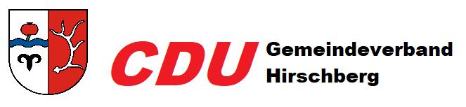 Logo von CDU Gemeindeverband Hirschberg