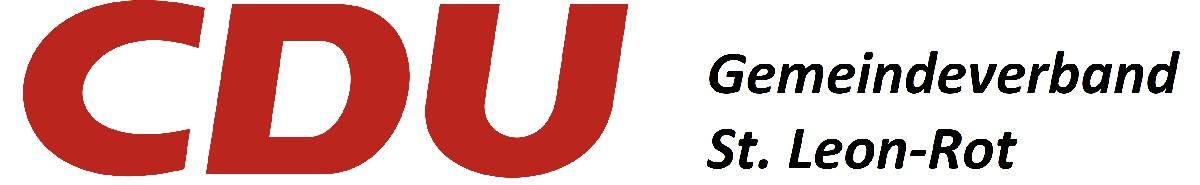 Logo von CDU Gemeindeverband St. Leon-Rot